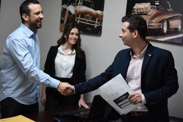 Εικόνα από τα γραφεία Νο23, λογιστικό γραφείο Θεσσαλονίκη Diamantis Tax